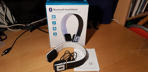 Bluetooth kuulokkeet