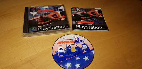 Newman Haas Racing PS1 -peli