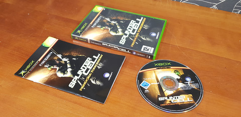 Spinter Cell -peli (Xbox)