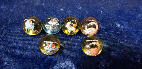 6 Pokemon marmorikuulaa (70-79)