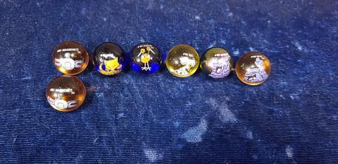 7 Pokemon marmorikuulaa (80-89)