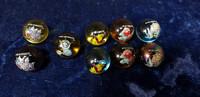 9 Pokemon marmorikuulaa (130-139)