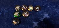 7 Pokemon marmorikuulaa (140-149)