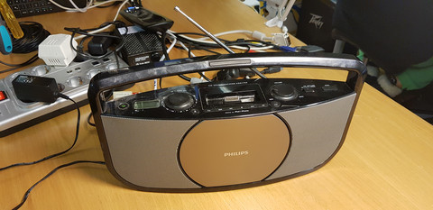 Radio / CD -soitin (Philips AZD1755/12)