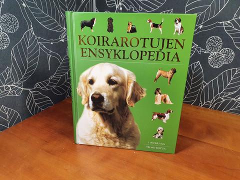 Koirarotujen ensyklopedia -kirja