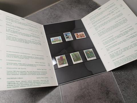 Ahvenammaan postimerkit 1989