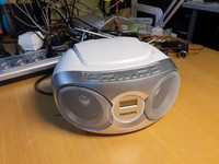CD / Radio -soitin (Philips AZ215S/12)