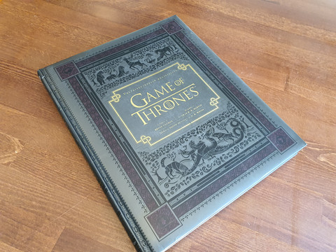 Game of Thrones - Valtaistuinpelin kulisseissa -kirja