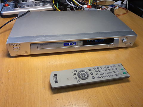 DVD -soitin (Sony DVP-NS305)