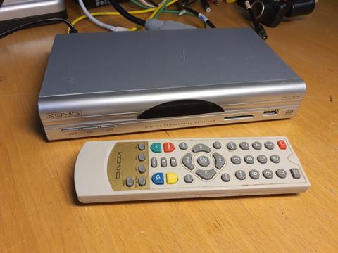 Antenniverkon digiboksi (Konig DVB-T FTA19N)