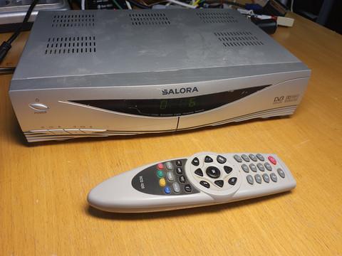Antenniverkon digiboksi (Salora DVB-T 420)