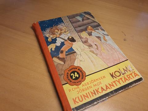 Kolme Kuninkaantytärtä -kirja (1944)