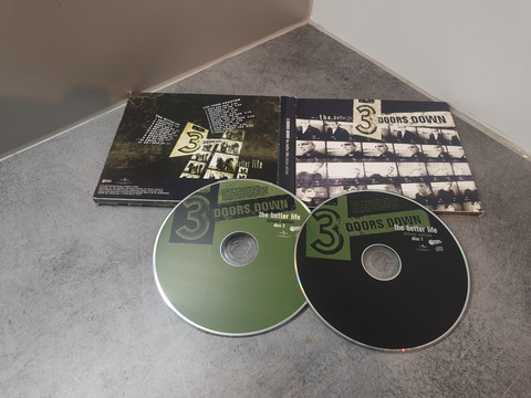 CD-levy (3 doors down - The Better Life)