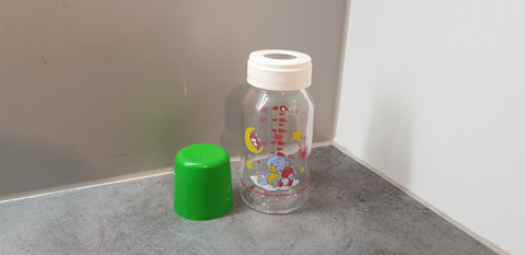 Lasinen tuttipullo, 120 ml (Canpol Babies)