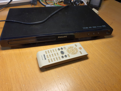 DVD -soitin (Philips DVP3850)