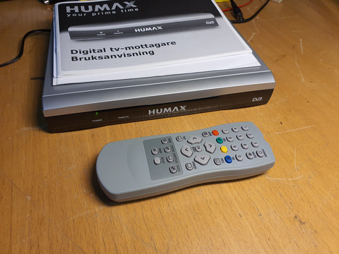 Antenniverkon digiboksi (Humax F4-FTA-FI)