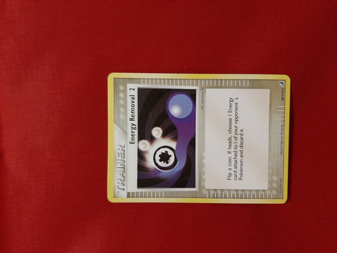 Energy Removal 2 82/115 -  EX Unseen Forces