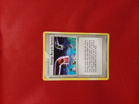Energy Recycle System  81/115 Foil  - EX Unseen Forces
