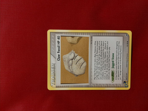 Claw Fossil  90/100 -  EX Sandstorm
