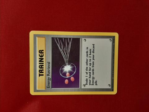 Energy Retrieval  81/102 - Base Set