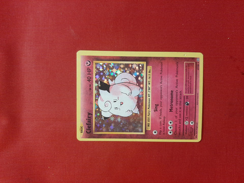 Clefairy 63/108 - Evolutions   holo