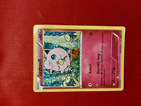 Jigglypuff [Rollout 8/12 - McDonald's Collection 2016  Foil