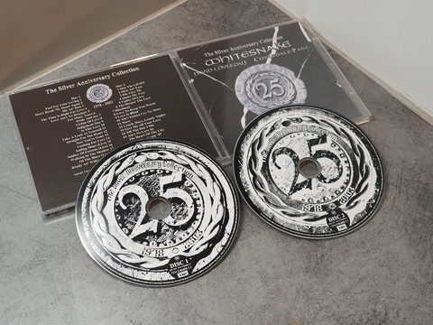 Whitesnake - The Silver Anniversary Collection CD -levy