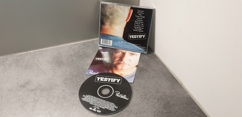 CD (Phil Collins - Testify)