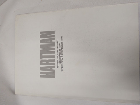 Hartman - teoksia vuosilta 1966 - 1990