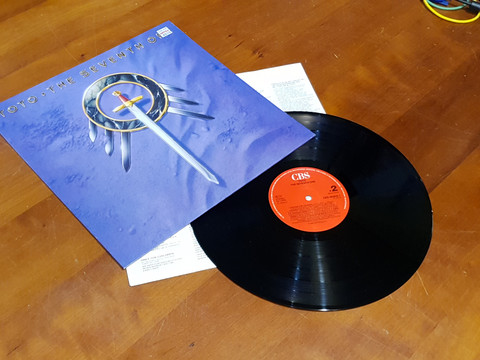 LP -levy (Toto - The Seventh One)