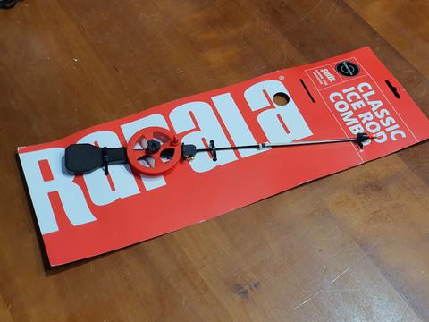 Pilkkivapa (Rapala Classic Ice Rod Combo)