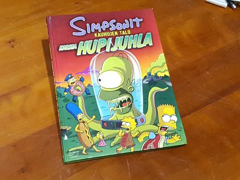Sarjakuvakirja (Simpsonit - Kauhujen Talo)