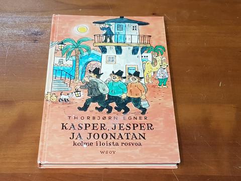 Lastenkirja (Kasper, Jesper ja Joonatan - Kolme iloista rosvoa)
