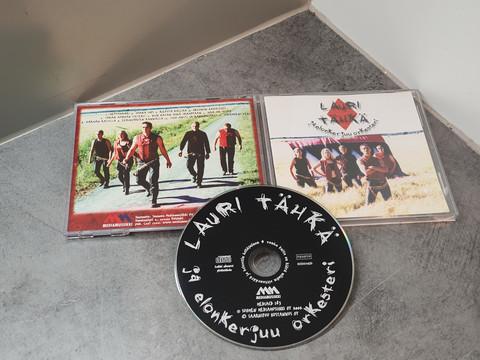 CD -levy (Lauri Tähkä - Pistoja Syrämmes)
