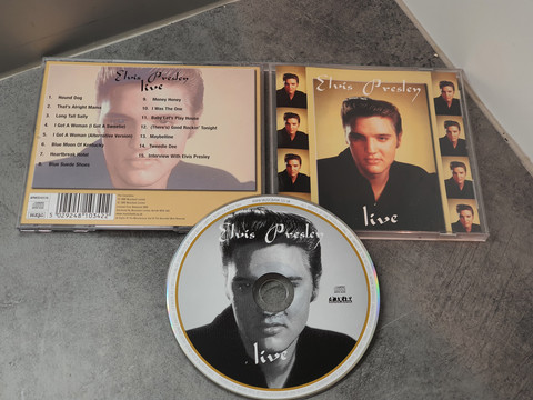 CD -levy (Elvis Presley - live)