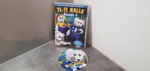 Lasten dvd (Ti-Ti Nalle karaoke 3)