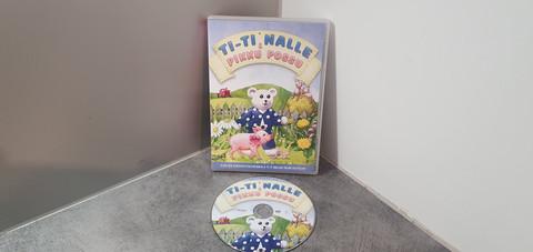 Lasten dvd (Ti-Ti Nalle pikku possu)