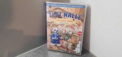 Lasten dvd (Ti-Ti Nalle Ullakon aarre)