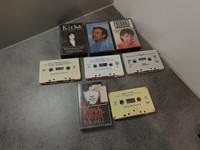 C -kasetit (Kirka 4kpl)