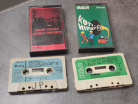 C -kasetit (2 kpl)
