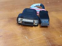Näyttö -adapteri (DP -> DVI)