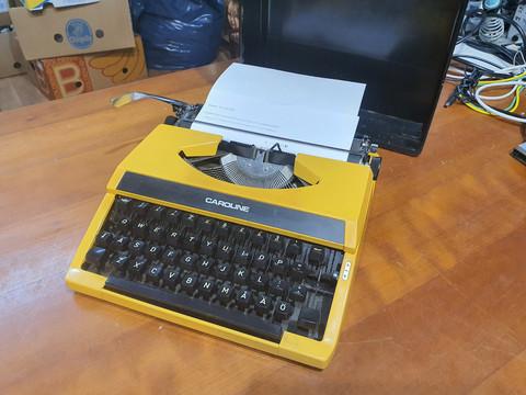 Vintage kirjoituskone (Caroline)