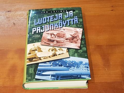 Kirja (John Latimer - Luoteja ja pajunköyttä)