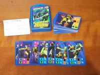 Lasten pelikortit (Leonardo Power Cards - Teenage Mutant Ninja Turtles)
