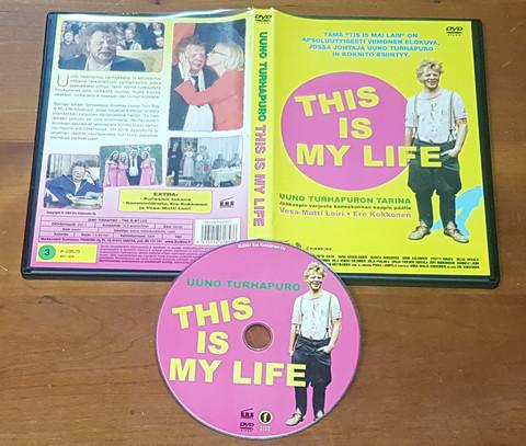 DVD Elokuva (Uuno Turhapuro - This Is My Life)