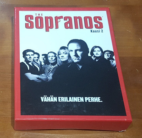 DVD Elokuva (Sopranos - Kausi 2)