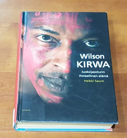 Kierrätyskirja (Heikki Saure. Wilson Kirwa - Juoksijasoturin ihmeellinen elämä)