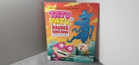 Kierrätyskirja (Tatu ja Patu, kauhea hirviö - hirviö)