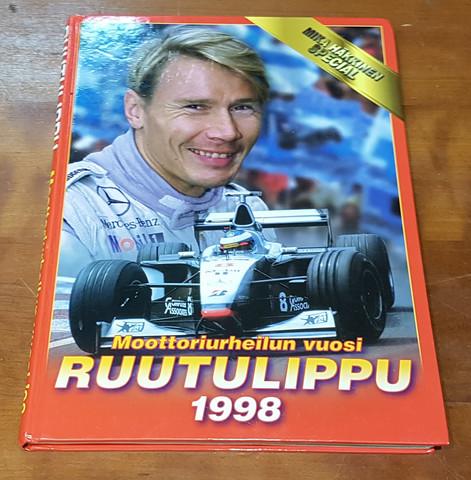 Kirja (Ruutulippu - Moottoriurheilun vuosi 1998. Mika Häkkinen Special)
