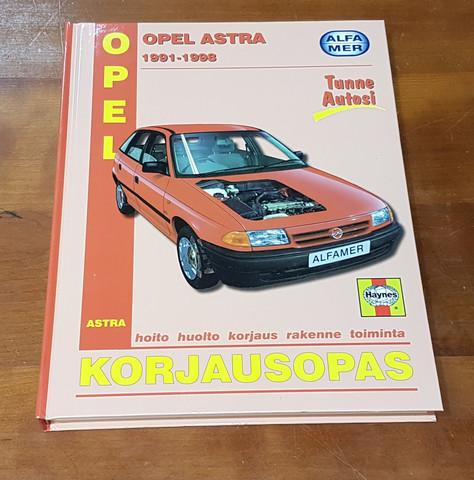 Kirja (Alfamer -korjausopas. Opel Astra 1991 - 1998)
